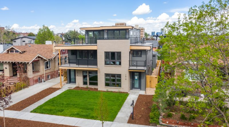 Just Listed: South Side of Sloan's Lake Duplex Project