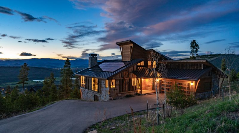 Just Sold: Mountain Modern Granby Ranch Home